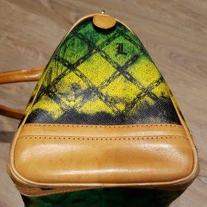 L.A.M.B. Bags - L.A.M.B Gwen Stefani  Ombre  Green Satchel Handbag